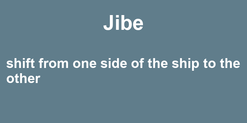 Jibe In A Sentence 36 Real Example Sentences